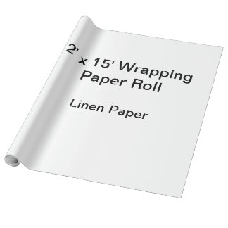 Wrapping Paper (2x15 Roll, Linen Paper)