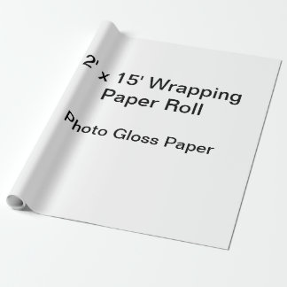 Wrapping Paper (2x15 Roll, Photo Gloss Paper)