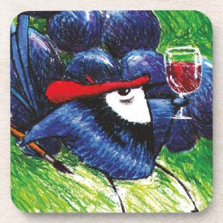 Wrenoir Red Wine Coaster
