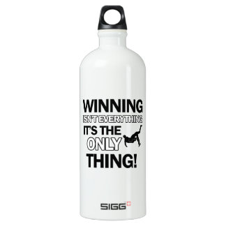 wrestle design water bottle