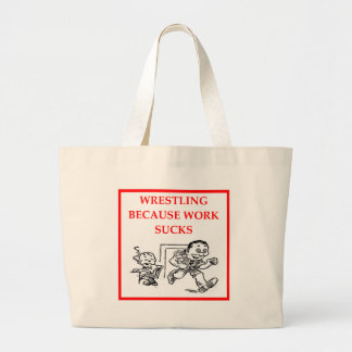 WRESTLING TOTE BAGS