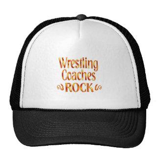 Wrestling Coaches Rock Cap
