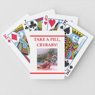 wrestling card deck