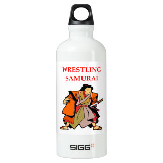 WRESTLING WATER BOTTLE