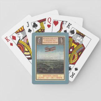 Wright Brothers Plane Playing Cards