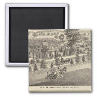 Wright, Putnam residences Magnet