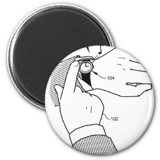 Wrist watch magnet