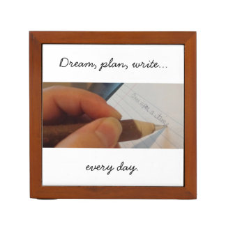 Write Every Day Desk Organizer