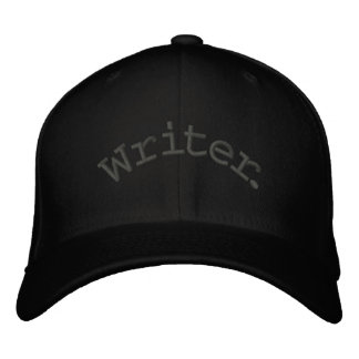 Writer. Embroidered Baseball Caps