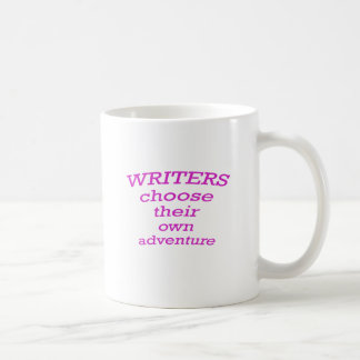 Writers Choose their own Adventure Coffee Mug