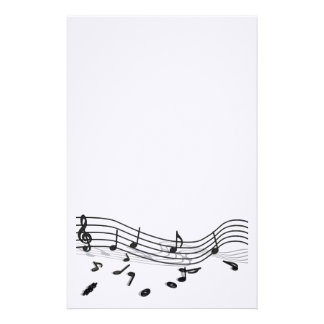 Custom in writing music