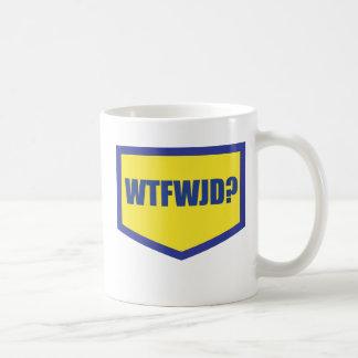 WTFWJD COFFEE MUG