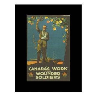WW1 Collectors Card 1914 CANADA PROPAGANDA Postcard