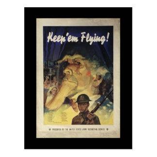 WW1 Collectors Card 1917 US  PROPAGANDA Postcard