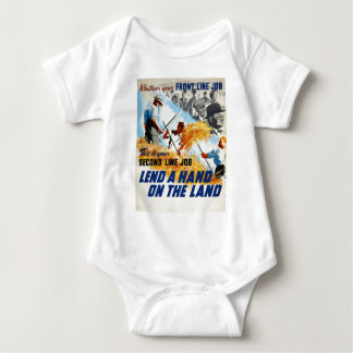 WW2 Recruiting Poster Apparel Baby Bodysuit