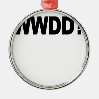 WWDD .png Christmas Ornament