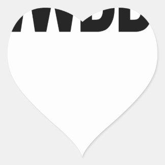 WWDD .png Heart Sticker