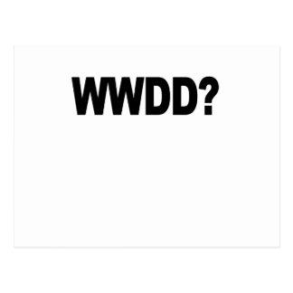 WWDD .png Postcard