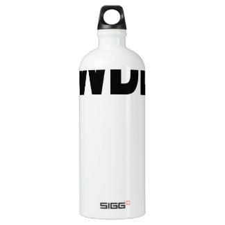 WWDD .png Water Bottle
