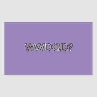 WWDQD? * What Would A Drag Queen Do? Stickers