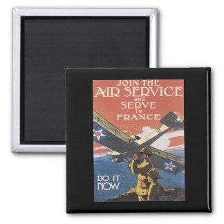 WWI Advertisement Enlisting Magnet
