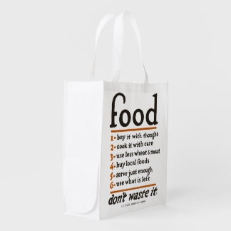 "WWI ""Food—Don't Waste It"" Reusable Grocery Bag"