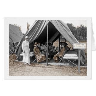 WWI Nurse Trainees Card