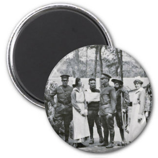 WWI Nurses and Doctors Magnet