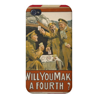 WWI Will You Make a Fourth? iPhone 4/4S Cover