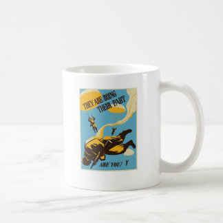 WWII Paratrooper Coffee Mug
