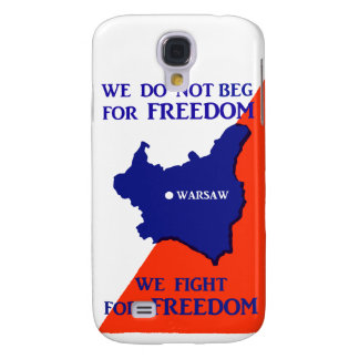 WWII Poland Fights for Freedom Galaxy S4 Case