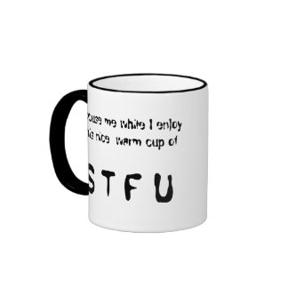 www.b3clan.com, Seriously., Angry Nerdhates you... Ringer Mug