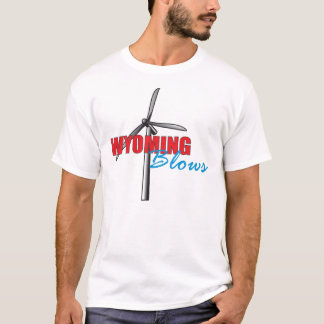 Wyoming Blows Style 3 T-Shirt