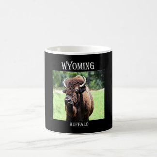 Wyoming Buffalo (Bison) Coffee Mug