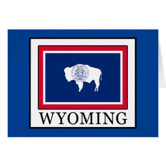 Wyoming Card