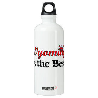 Wyoming is the Best SIGG Traveller 0.6L Water Bottle