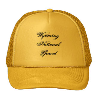 Wyoming National Guard Trucker Hats