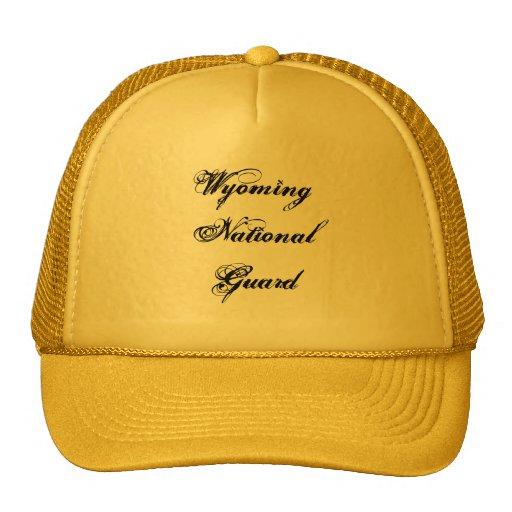 Wyoming National Guard Trucker Hats