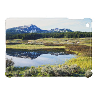 Wyoming, Rocky Mountains, A mountain peak iPad Mini Cases