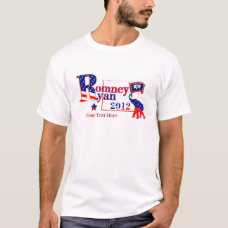 Wyoming Romney and Ryan 2012 Tee Shirt
