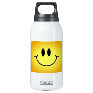 Wyoming Smiley Face Insulated Water Bottle