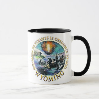 Wyoming Tea Party Mug