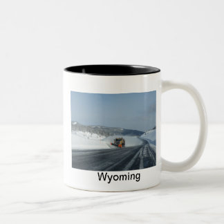 Wyoming Two-Tone Coffee Mug