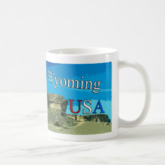 Wyoming USA 11 oz Travel Mug