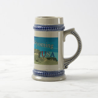 Wyoming USA Stein