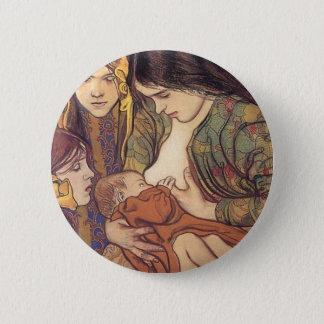 Wyspianski, Maternity, 1905 6 Cm Round Badge