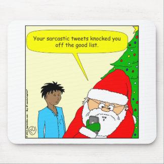 x75 sarcastic tweets cartoon mousepads