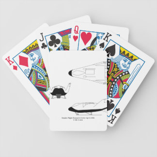 X-38_3-View_line_art_EG-0097-01 Bicycle Playing Cards