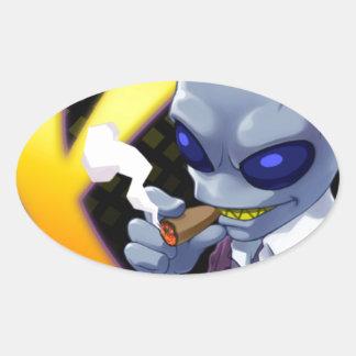 X-Tactics Goichi Oval Sticker