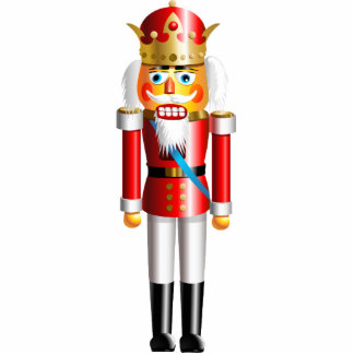 Xmas Nutcracker King Photo Sculpture Decoration